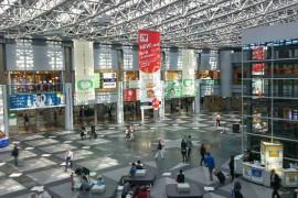 新千歳空港へ、貸渡し場所の確認