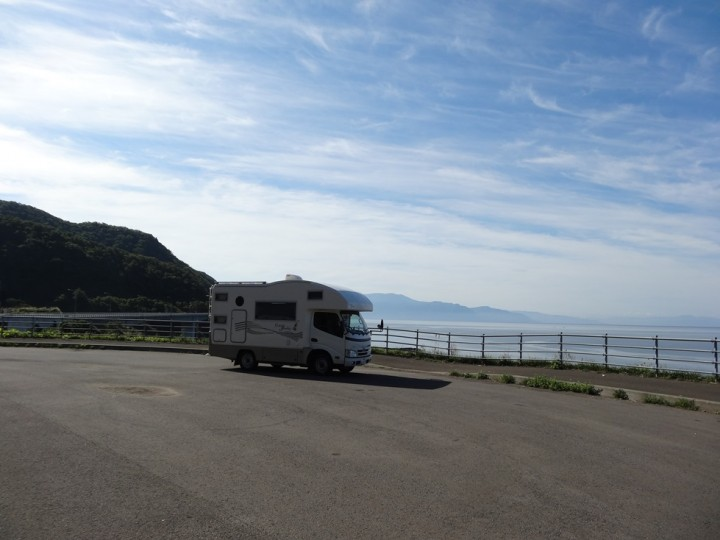 ⑥神威岬へ向かう途中(国道229号)