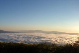 道東の「津別峠展望台から見た雲海」