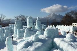 北極の流氷でしょうか?